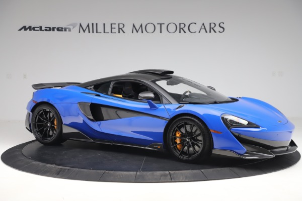 Used 2019 McLaren 600LT for sale $255,900 at Maserati of Westport in Westport CT 06880 10
