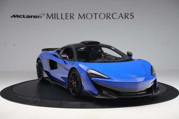 Used 2019 McLaren 600LT for sale $255,900 at Maserati of Westport in Westport CT 06880 11