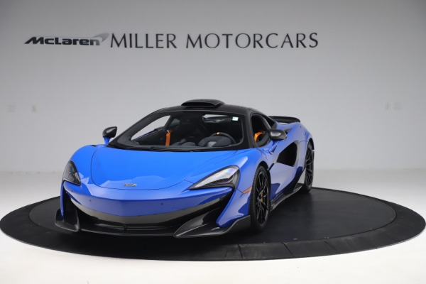 Used 2019 McLaren 600LT for sale $255,900 at Maserati of Westport in Westport CT 06880 2