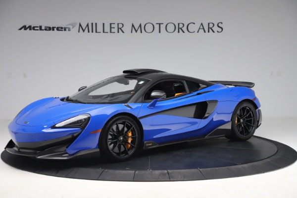 Used 2019 McLaren 600LT for sale $255,900 at Maserati of Westport in Westport CT 06880 1
