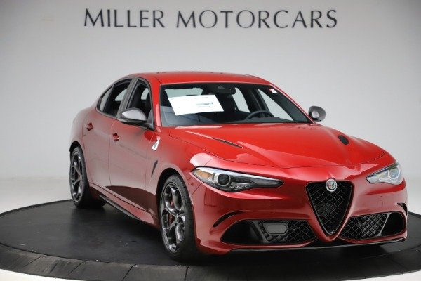 New 2020 Alfa Romeo Giulia Quadrifoglio for sale $83,590 at Maserati of Westport in Westport CT 06880 11