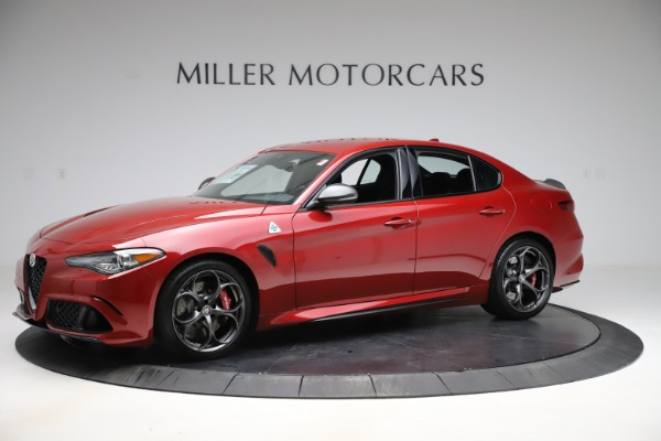 New 2020 Alfa Romeo Giulia Quadrifoglio for sale $83,590 at Maserati of Westport in Westport CT 06880 2