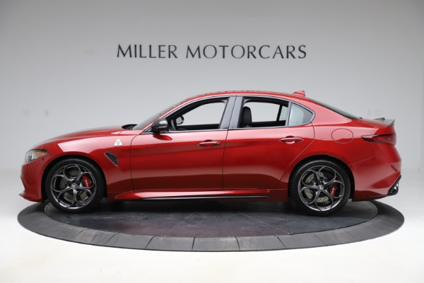 New 2020 Alfa Romeo Giulia Quadrifoglio for sale $83,590 at Maserati of Westport in Westport CT 06880 3