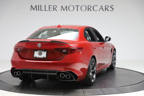 New 2020 Alfa Romeo Giulia Quadrifoglio for sale $83,590 at Maserati of Westport in Westport CT 06880 7