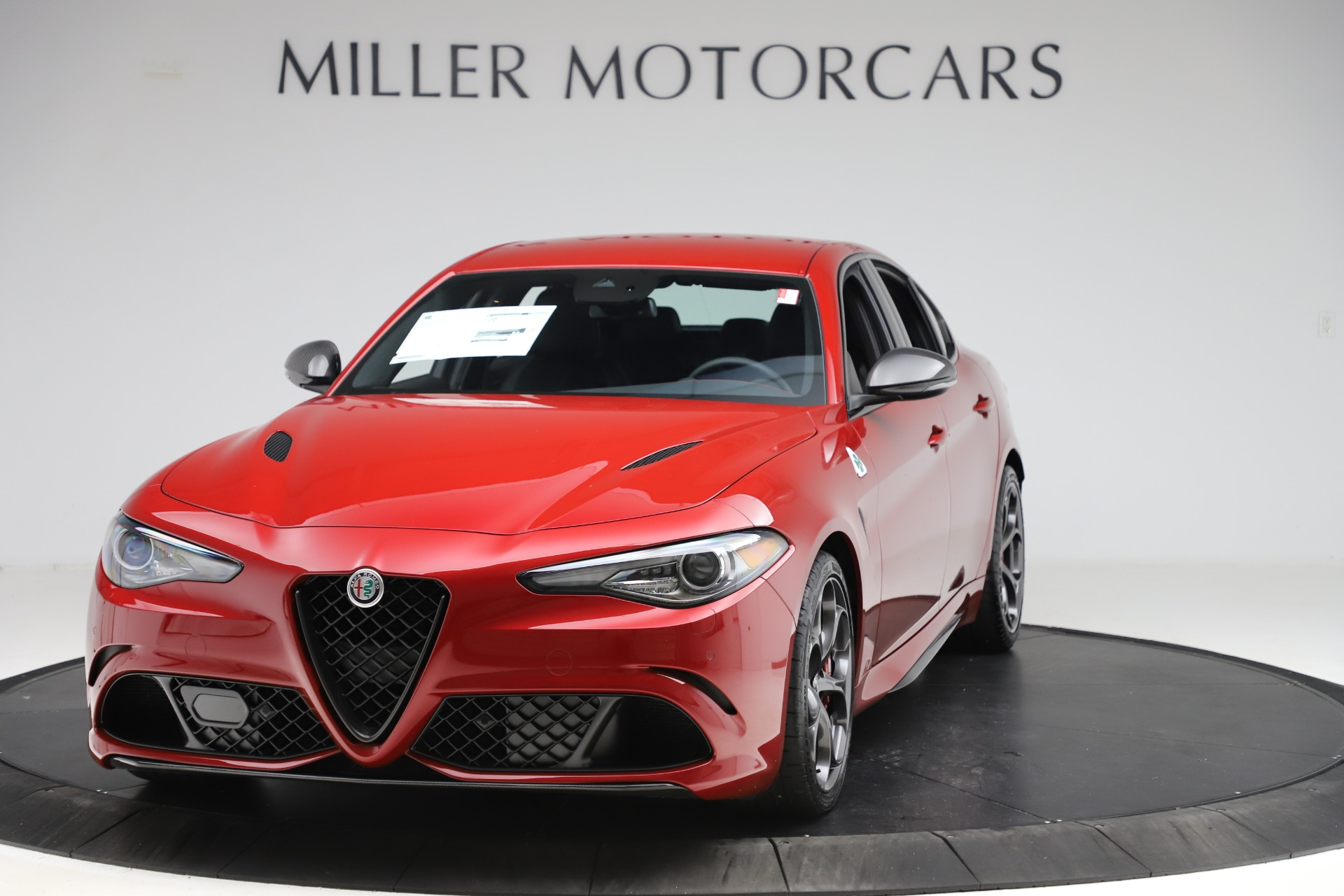 New 2020 Alfa Romeo Giulia Quadrifoglio for sale $83,590 at Maserati of Westport in Westport CT 06880 1