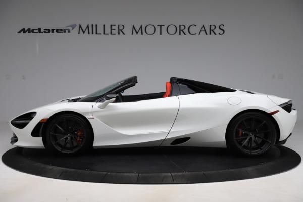 New 2020 McLaren 720S Spider Performance for sale $386,289 at Maserati of Westport in Westport CT 06880 2