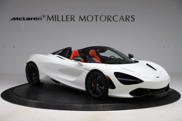 New 2020 McLaren 720S Spider Performance for sale $386,289 at Maserati of Westport in Westport CT 06880 9