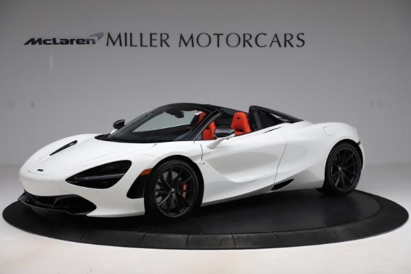New 2020 McLaren 720S Spider Performance for sale $386,289 at Maserati of Westport in Westport CT 06880 1