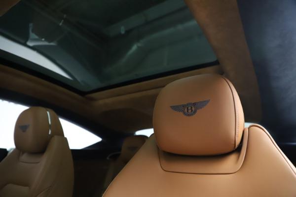 New 2020 Bentley Continental GT W12 for sale $260,770 at Maserati of Westport in Westport CT 06880 21