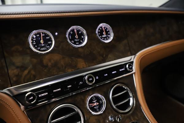 New 2020 Bentley Continental GT W12 for sale $260,770 at Maserati of Westport in Westport CT 06880 25