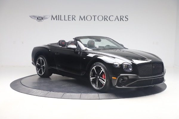 New 2020 Bentley Continental GTC V8 for sale $275,045 at Maserati of Westport in Westport CT 06880 11