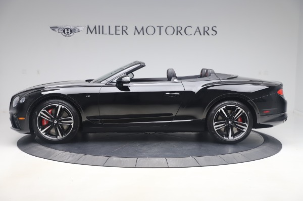 New 2020 Bentley Continental GTC V8 for sale $275,045 at Maserati of Westport in Westport CT 06880 3