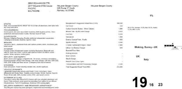 Used 2017 McLaren 570S for sale $154,900 at Maserati of Westport in Westport CT 06880 23