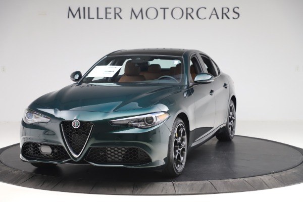 New 2020 Alfa Romeo Giulia Ti Sport Q4 for sale $54,995 at Maserati of Westport in Westport CT 06880 1
