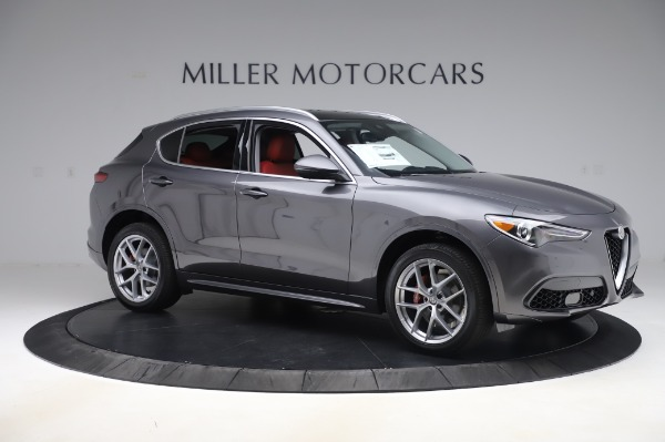 New 2020 Alfa Romeo Stelvio Ti Q4 for sale $50,945 at Maserati of Westport in Westport CT 06880 10