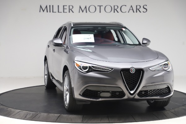 New 2020 Alfa Romeo Stelvio Ti Q4 for sale $50,945 at Maserati of Westport in Westport CT 06880 11