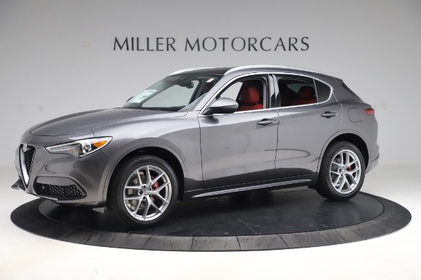 New 2020 Alfa Romeo Stelvio Ti Q4 for sale $50,945 at Maserati of Westport in Westport CT 06880 2