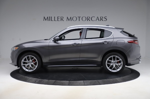 New 2020 Alfa Romeo Stelvio Ti Q4 for sale $50,945 at Maserati of Westport in Westport CT 06880 3