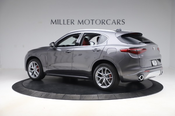 New 2020 Alfa Romeo Stelvio Ti Q4 for sale $50,945 at Maserati of Westport in Westport CT 06880 4