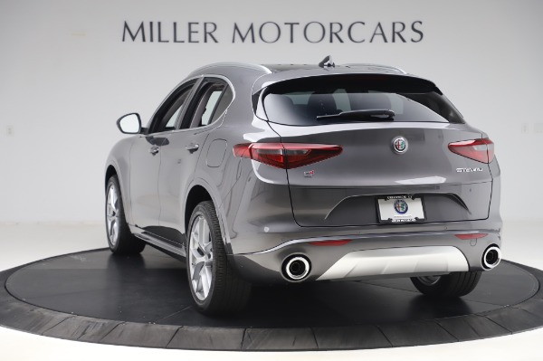 New 2020 Alfa Romeo Stelvio Ti Q4 for sale $50,945 at Maserati of Westport in Westport CT 06880 5