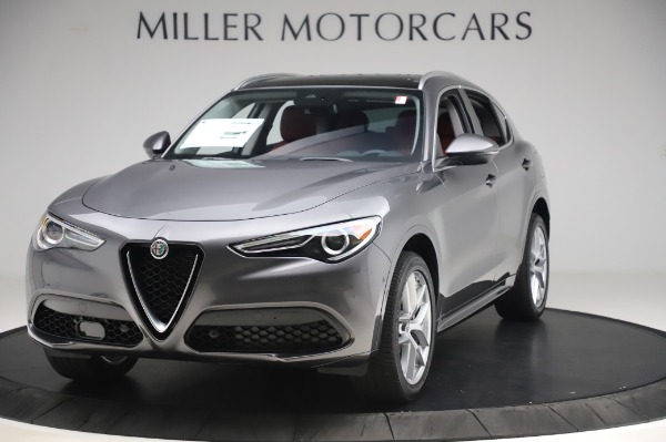 New 2020 Alfa Romeo Stelvio Ti Q4 for sale $50,945 at Maserati of Westport in Westport CT 06880 1