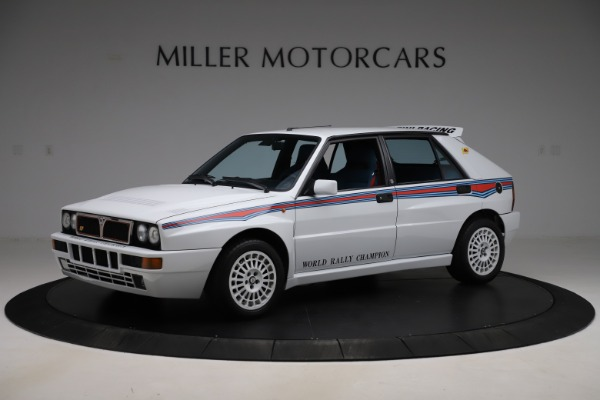 Used 1992 Lancia HF Integrale Evo 1 Martini 6 for sale $199,900 at Maserati of Westport in Westport CT 06880 2
