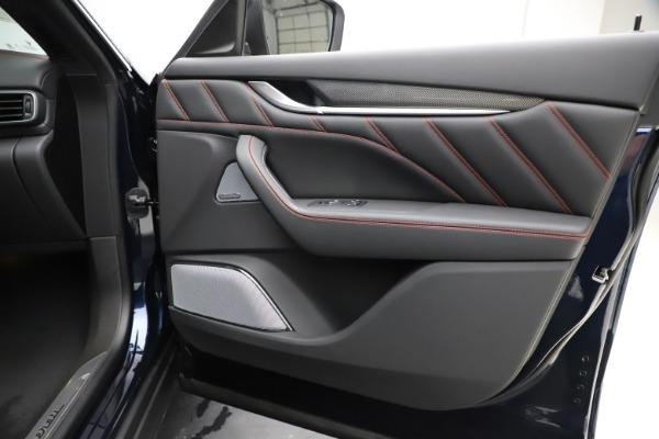 New 2019 Maserati Levante S GranSport for sale $110,855 at Maserati of Westport in Westport CT 06880 25