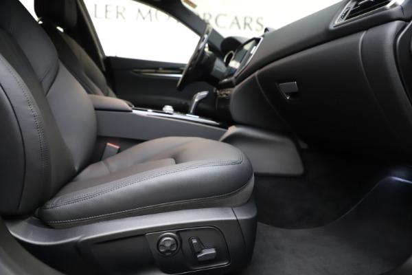 New 2019 Maserati Ghibli S Q4 for sale $91,165 at Maserati of Westport in Westport CT 06880 22