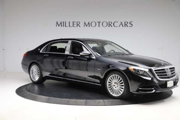 Used 2016 Mercedes-Benz S-Class Mercedes-Maybach S 600 for sale $87,900 at Maserati of Westport in Westport CT 06880 10