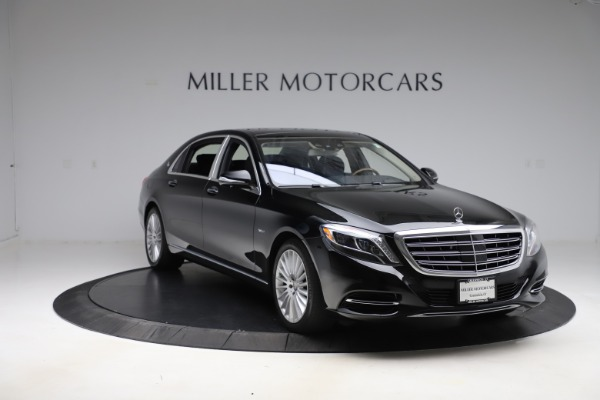 Used 2016 Mercedes-Benz S-Class Mercedes-Maybach S 600 for sale $87,900 at Maserati of Westport in Westport CT 06880 12