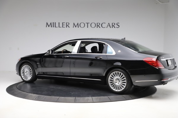 Used 2016 Mercedes-Benz S-Class Mercedes-Maybach S 600 for sale $87,900 at Maserati of Westport in Westport CT 06880 4