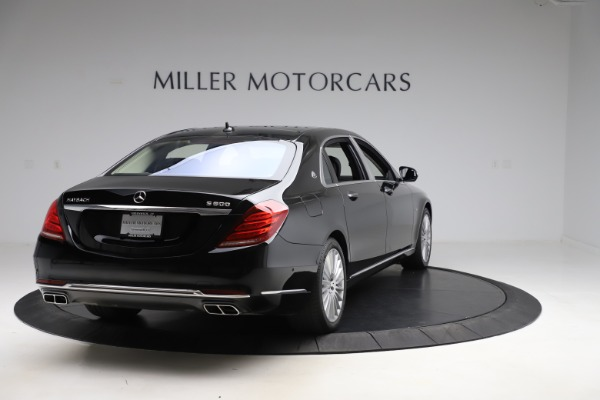 Used 2016 Mercedes-Benz S-Class Mercedes-Maybach S 600 for sale $87,900 at Maserati of Westport in Westport CT 06880 7