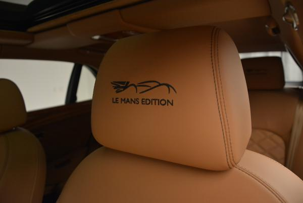 Used 2013 Bentley Mulsanne Le Mans Edition- Number 1 of 48 for sale Sold at Maserati of Westport in Westport CT 06880 21