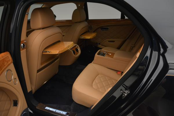 Used 2013 Bentley Mulsanne Le Mans Edition- Number 1 of 48 for sale Sold at Maserati of Westport in Westport CT 06880 25