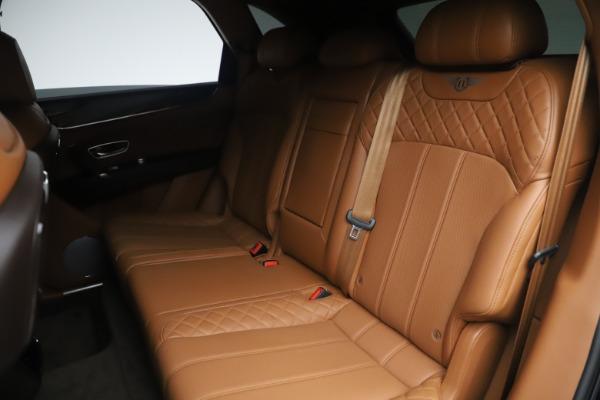 Used 2017 Bentley Bentayga W12 for sale Sold at Maserati of Westport in Westport CT 06880 21