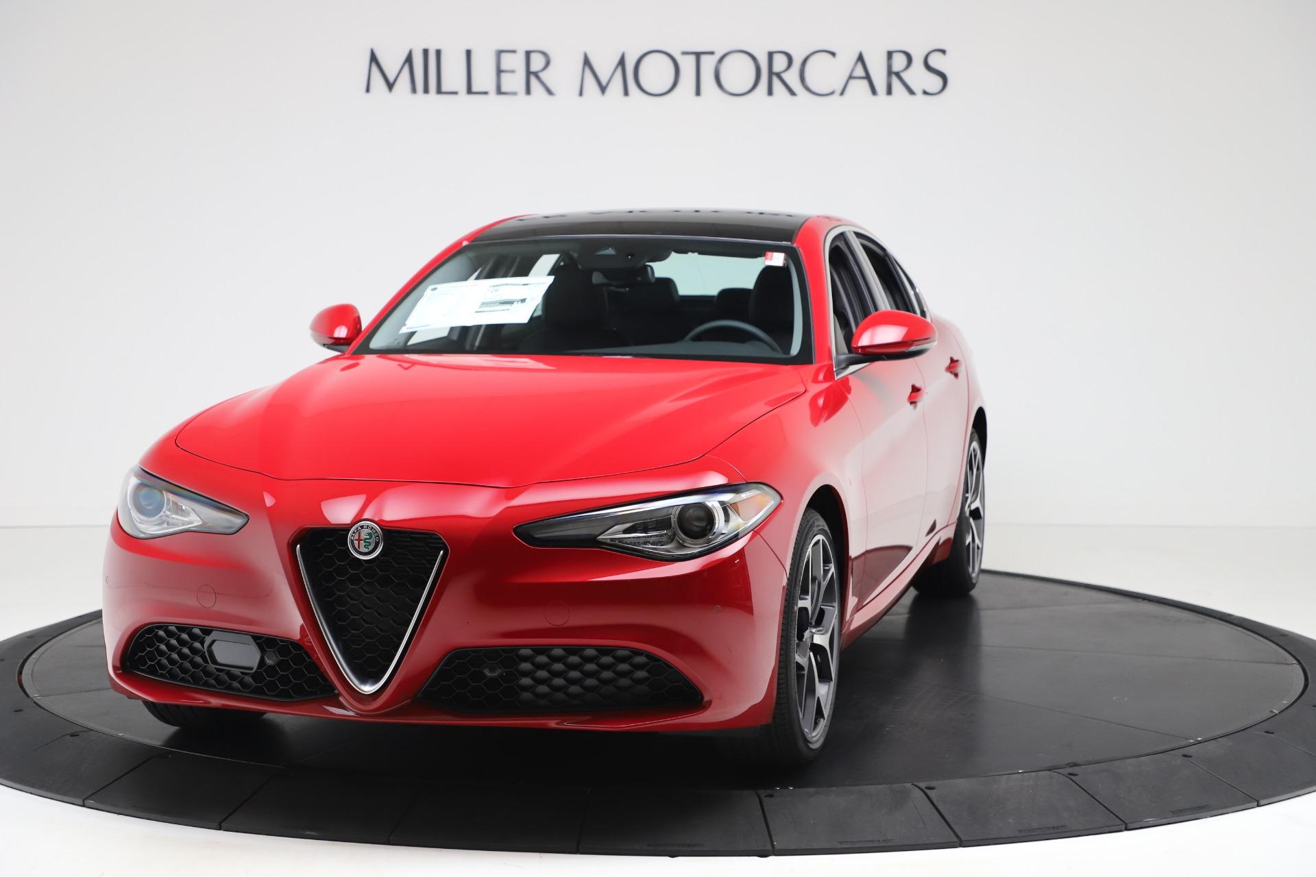 New 2020 Alfa Romeo Giulia Ti Q4 for sale $47,745 at Maserati of Westport in Westport CT 06880 1