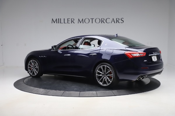 New 2020 Maserati Ghibli S Q4 for sale Sold at Maserati of Westport in Westport CT 06880 4