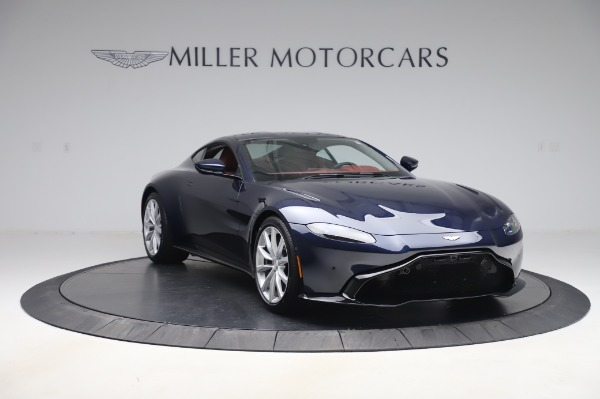 New 2020 Aston Martin Vantage Coupe for sale $177,481 at Maserati of Westport in Westport CT 06880 10