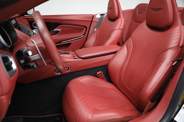 New 2020 Aston Martin DB11 Volante Convertible for sale $247,386 at Maserati of Westport in Westport CT 06880 21
