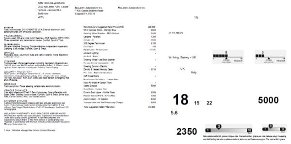 New 2020 McLaren 720S Performance for sale $349,050 at Maserati of Westport in Westport CT 06880 28
