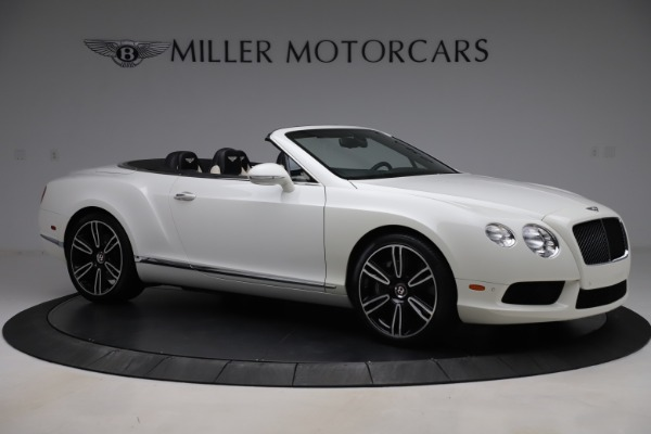 Used 2014 Bentley Continental GTC V8 for sale $109,900 at Maserati of Westport in Westport CT 06880 10