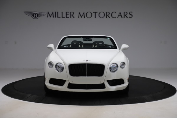 Used 2014 Bentley Continental GTC V8 for sale $109,900 at Maserati of Westport in Westport CT 06880 12