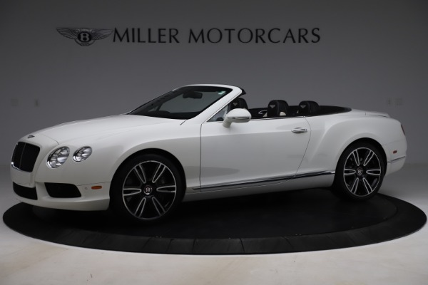 Used 2014 Bentley Continental GTC V8 for sale $109,900 at Maserati of Westport in Westport CT 06880 2