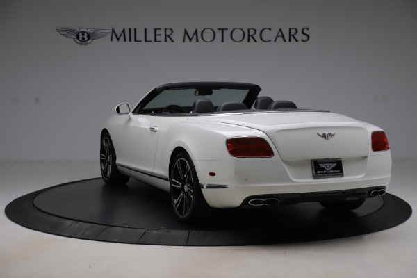 Used 2014 Bentley Continental GTC V8 for sale $109,900 at Maserati of Westport in Westport CT 06880 5
