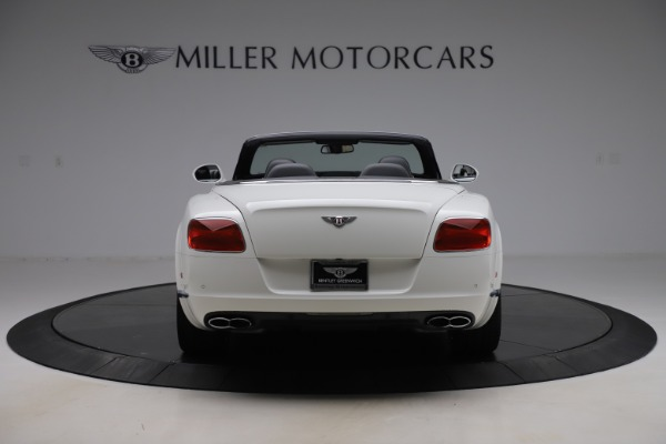 Used 2014 Bentley Continental GTC V8 for sale $109,900 at Maserati of Westport in Westport CT 06880 6