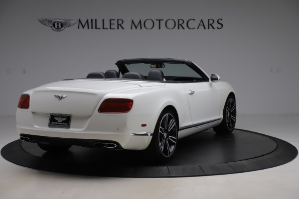 Used 2014 Bentley Continental GTC V8 for sale $109,900 at Maserati of Westport in Westport CT 06880 7
