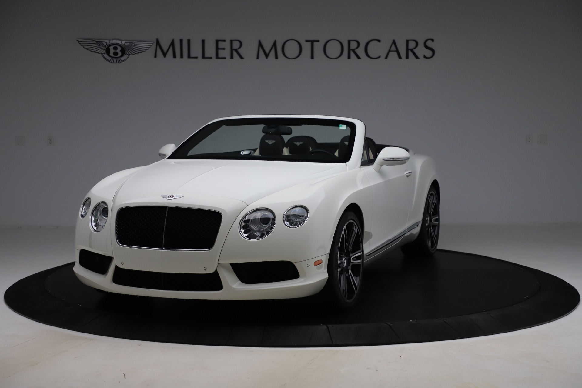 Used 2014 Bentley Continental GTC V8 for sale $109,900 at Maserati of Westport in Westport CT 06880 1
