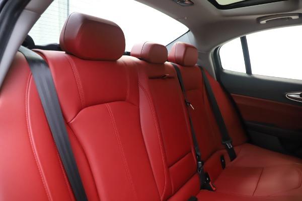 New 2020 Alfa Romeo Giulia Q4 for sale $48,445 at Maserati of Westport in Westport CT 06880 26