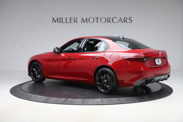 New 2020 Alfa Romeo Giulia Sport Q4 for sale Sold at Maserati of Westport in Westport CT 06880 4