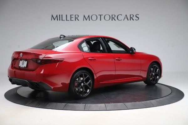 New 2020 Alfa Romeo Giulia Sport Q4 for sale Sold at Maserati of Westport in Westport CT 06880 8